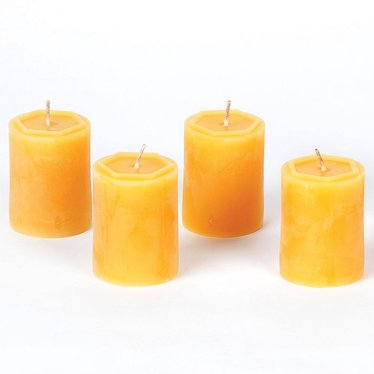 100 percent Beeswax Votive Candles