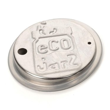 EcoJarz Stainless Steel Drink Lids - Wide Mouth