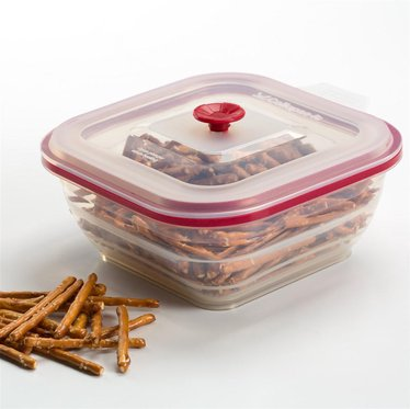 Collapsible Food Container - 4 Cup Square