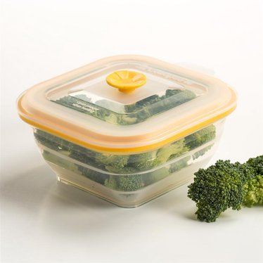 Collapsible Food Container - 2 Cup Square