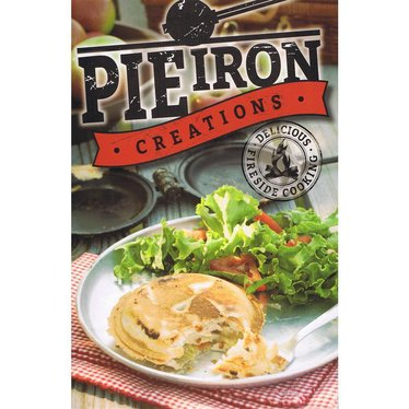 pie iron creations cookbook cookbooks lehman s