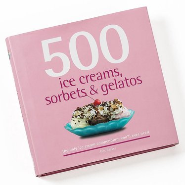 500 Ice Creams, Sorbets and Gelatos Book