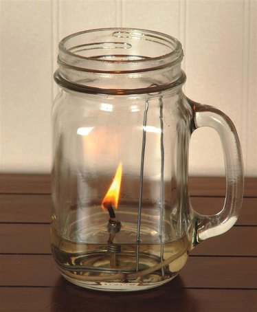 Merry Corliss Chamber Olive Oil Lamp