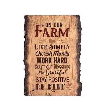 On Our Farm Sign