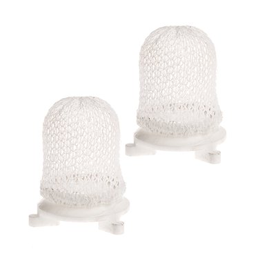 Aladdin Hard Inverted Gaslight Mantles #2 Ring - 2 Pack