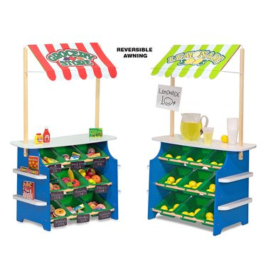 Grocery Store and Lemonade Stand Play Center