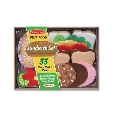Felt Play Food Sandwich Set