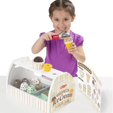 Scoop and Serve Toy Ice Cream Counter