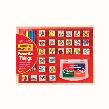 Wooden Stamp Set – Favorite Things