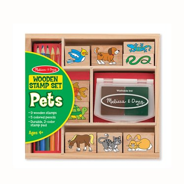 Wooden Stamp Set – Pets