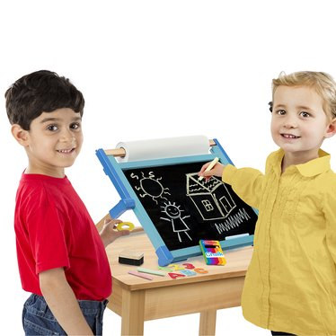 Children's Double-Sided Tabletop Easel