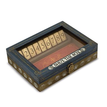 Vintage-Style Shut-the-Box Game