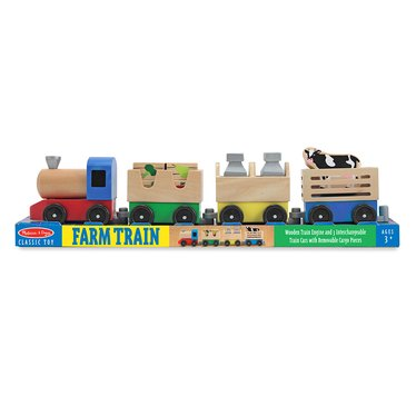 Farm Animal Train Toy Set