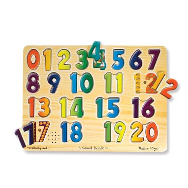 Numbers and Sounds Puzzle
