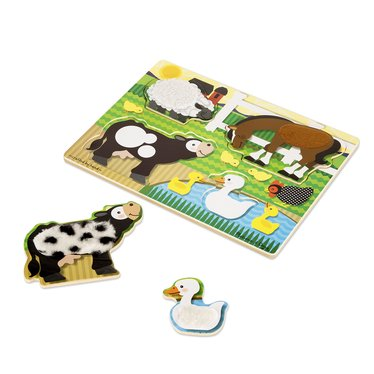 Farm Touch and Feel Puzzle
