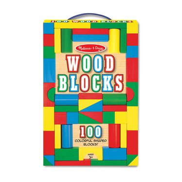 Toy Blocks 100-Piece Set