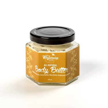 All-Natural Moisturizing Body Butter