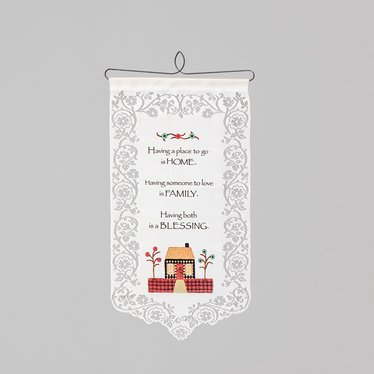 Family Blessing Wall Banner