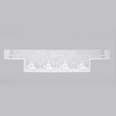 Farmhouse Lace Mantel Scarf
