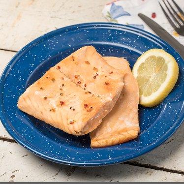 Freeze-Dried Salmon Fillets