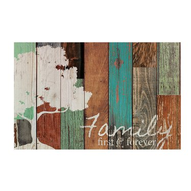 Family First and Forever Pallet Art