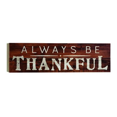 Always Be Thankful Boxed Pallet
