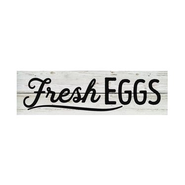 Fresh Eggs Pallet Sign
