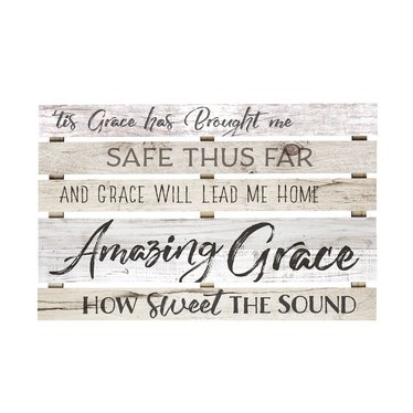 Amazing Grace Skid Sign