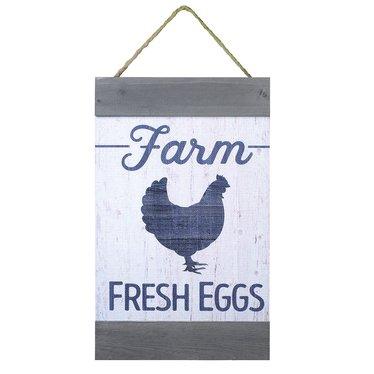 Farm Fresh Eggs Wall Banner