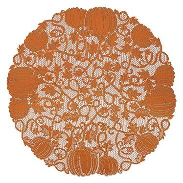 Pumpkin Vine Table Topper