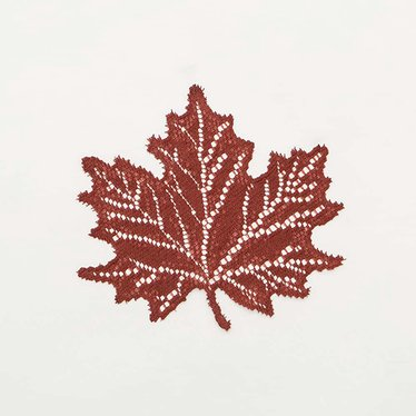 Maple Leaf Doilies
