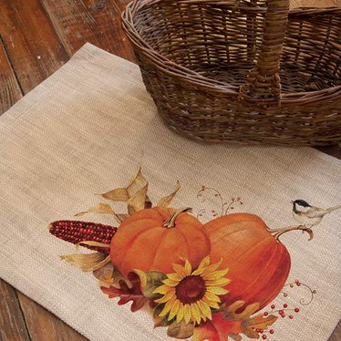 Harvest Pumpkin Placemats
