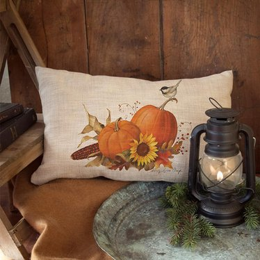 Harvest Pumpkin Pillow