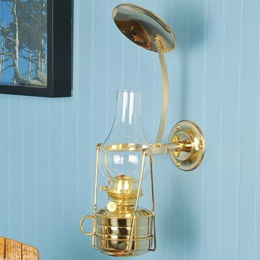 Watchman's Brass Wall Lamp