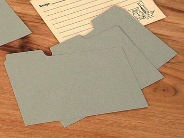Recipe Card Dividers