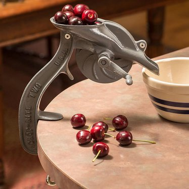 Old Fashioned Antique Style Cherry Pitter Peelers And