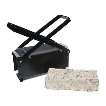 Newspaper Brick Maker