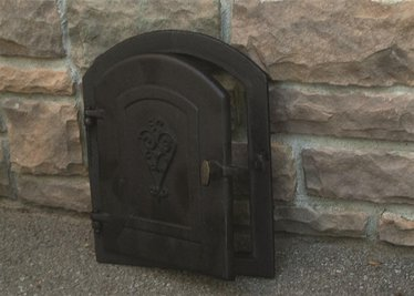Dutch Oven Left Door for building your own brick Dutch oven