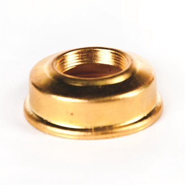 Brass Gem Arctic Collar for Oil Lamps