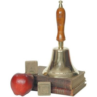 Brass Hand-Held School Bell