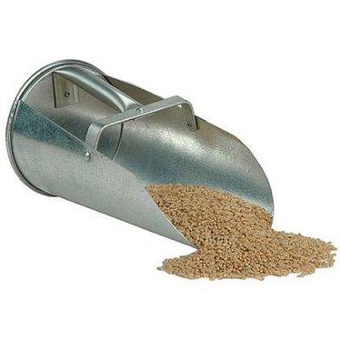 Galvanized Steel Grain Scoop