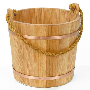 Old-Fashioned Wooden Buckets