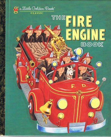 The Fire Engine Golden Book