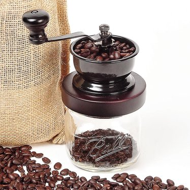 Canning Jar Coffee Grinder