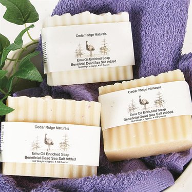 Bar Soaps with Emu Oil