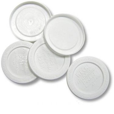 Small Mouth Plastic Storage Lid