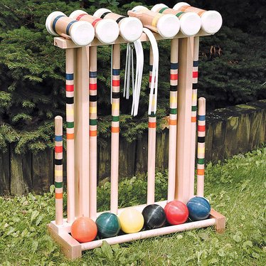 Amish-Crafted Croquet Set