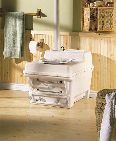 Santerra Green X10 Composting Toilet