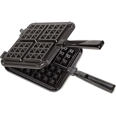 Square Stove-Top Waffle Iron