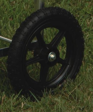 Replacement Rubber Wheel for Laundry Cart